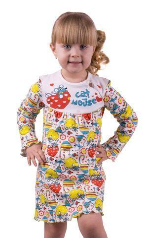 Сорочка для девочки Мышка