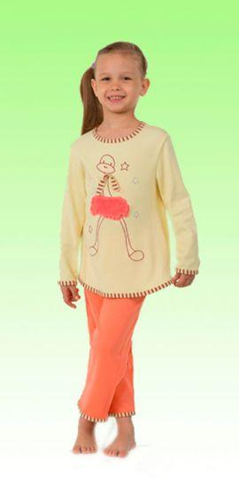 Пижама для девочки Птичка