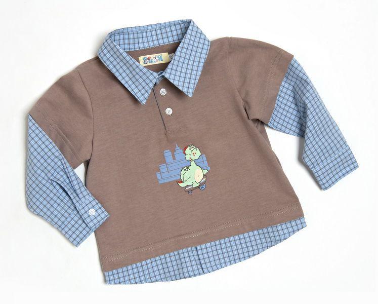 Рубашка для мальчика (Размер: 92)
