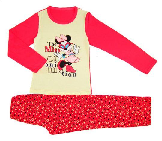 Розовая пижама для девочки Мисс Маус