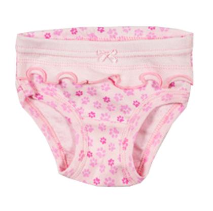 Розовые трусики для девочки Лапка