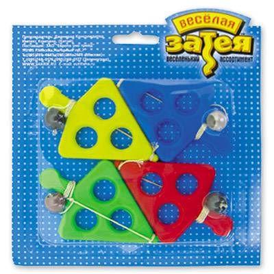 Игра лапта с шариком 4шт