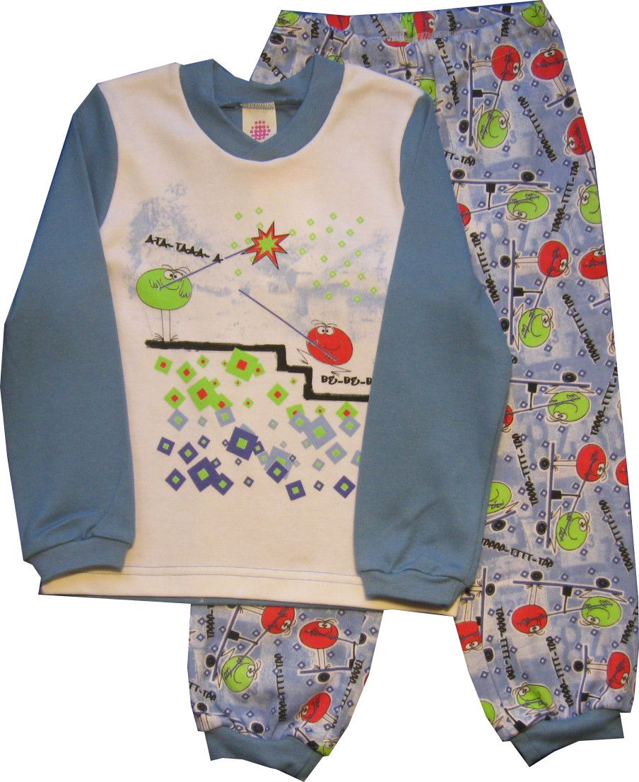 Пижама для мальчика (Размер: 98-104)