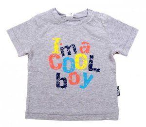 Майка для мальчика с яркими буквами (Размер: 86)
