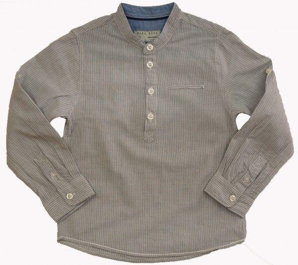 Стильная рубашка на пуговицах