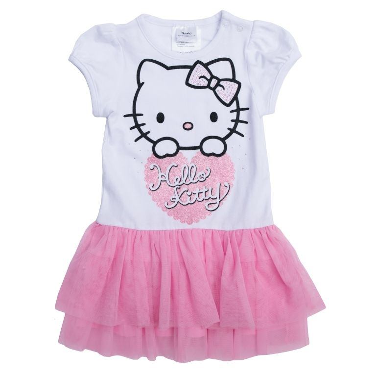 Розовое платье Балерина Hello Kitty