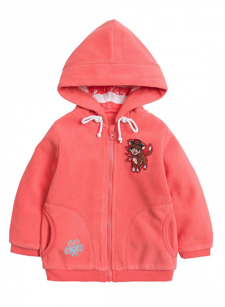 Куртка для девочек Коралловый