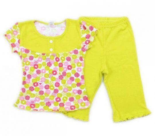 Пижама для девочки Крокид