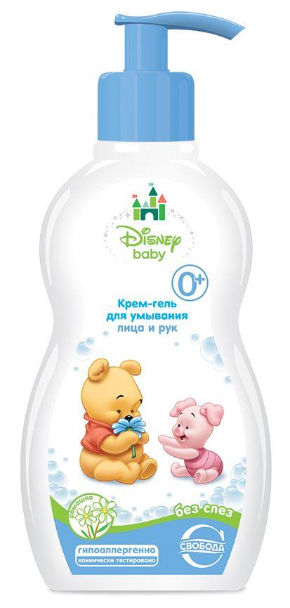 Крем-гель для умывания Disney Baby без слез 0+
