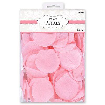 Лепестки Свадебные розовые, 300 шт.