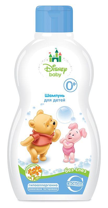 """Шампунь для детей """"Disney Baby"""" с календулой без слез 0+, 254гр."""