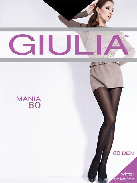 Колготки женские Giulia, цвет черный кофе