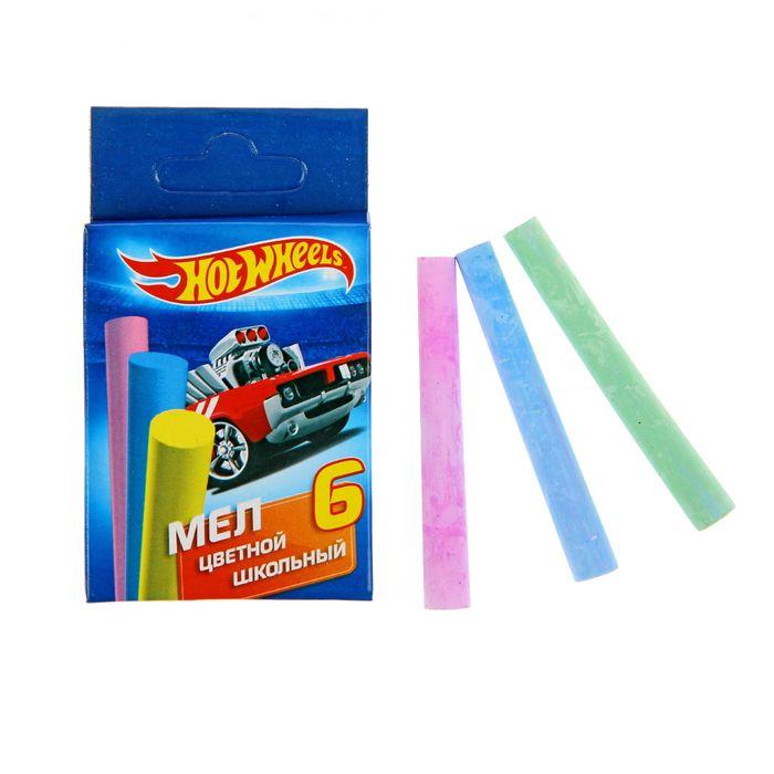 Цветные мелки Hot Wheels 6 шт.