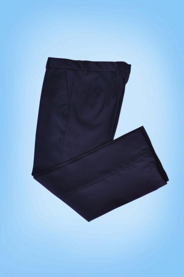 Темно-синие брюки для мальчика 11 лет