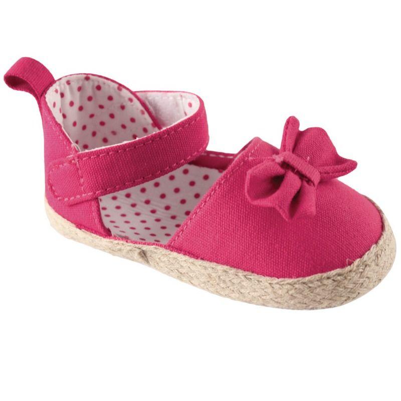 Пинетки-туфельки для девочки Малиновый бант