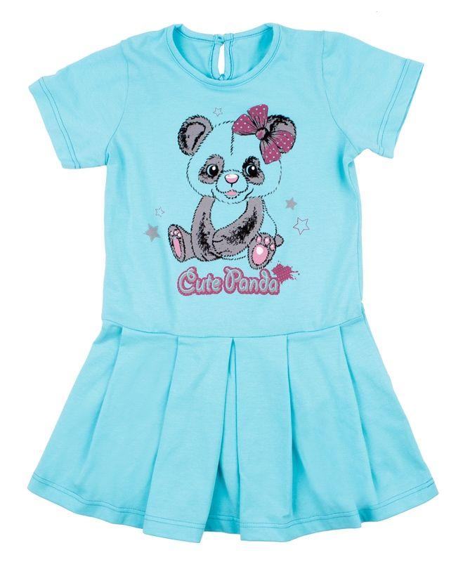 Платье для девочки Панда