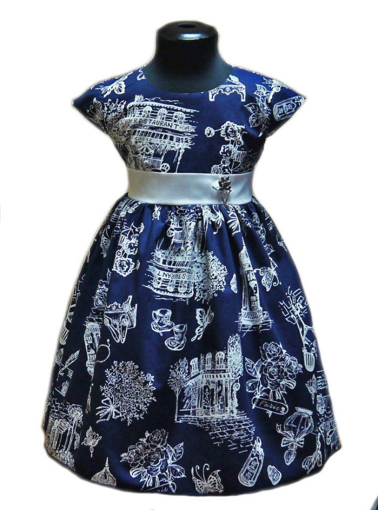 Нарядное платье для девочки Загадка