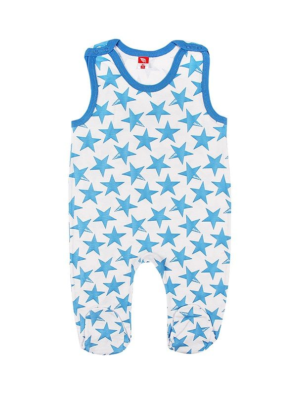 Ползунки Звезды для мальчика 6-9 месяцев
