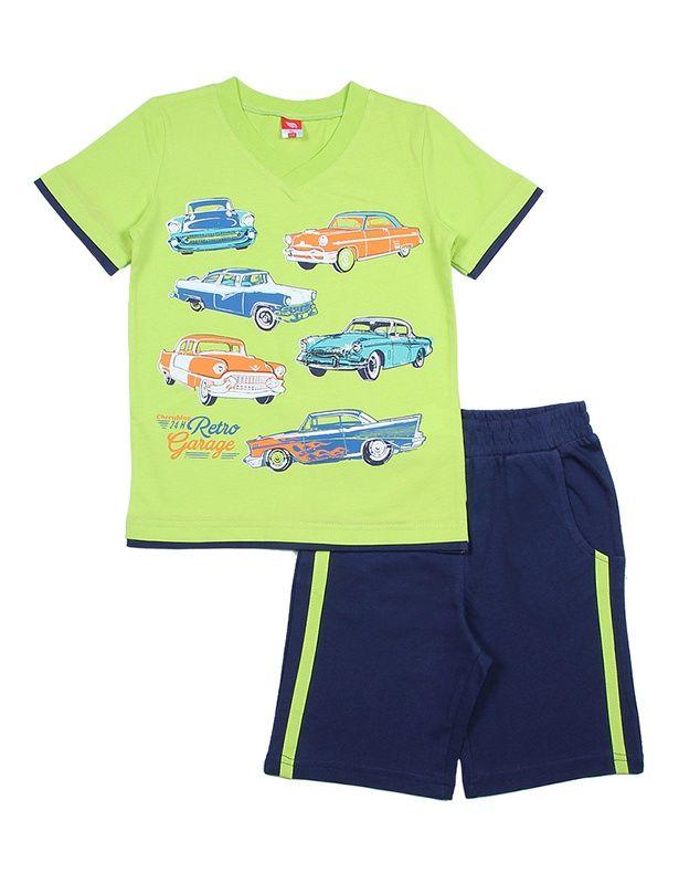Комплект для мальчика Автопарк