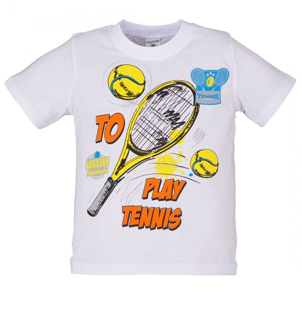 Футболка для мальчика Теннис