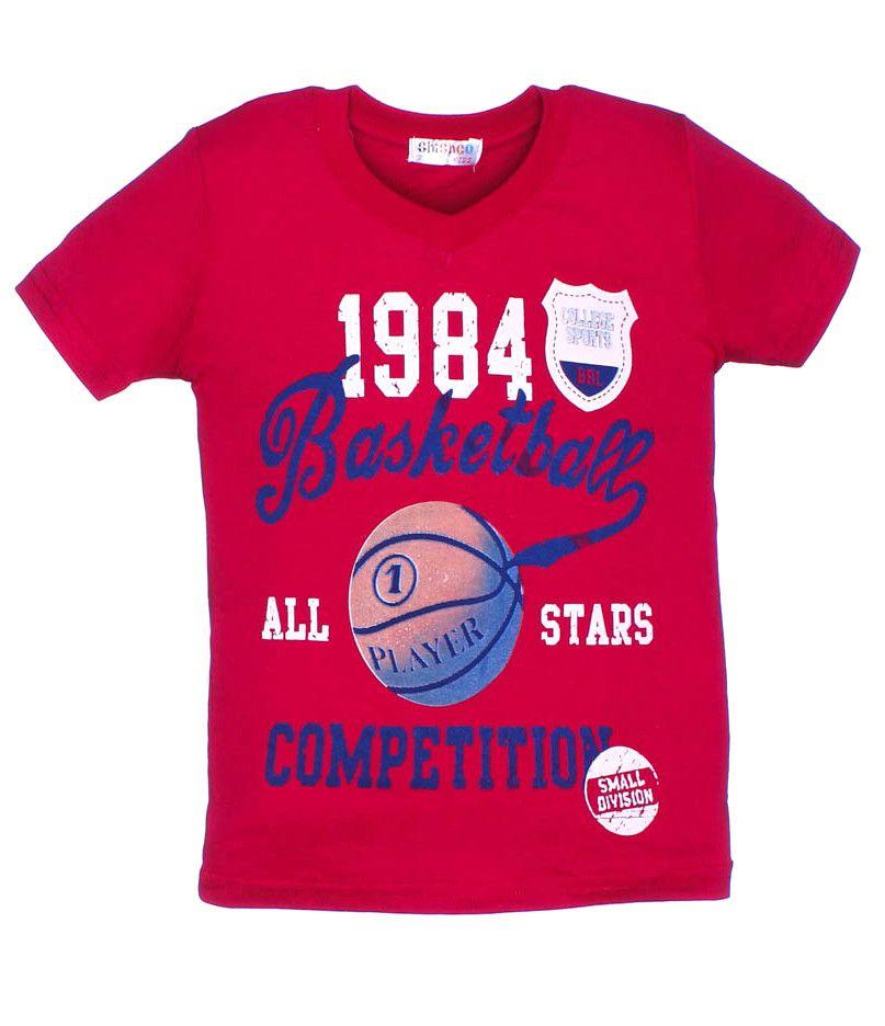 Футболки для мальчиков 1984 Basket