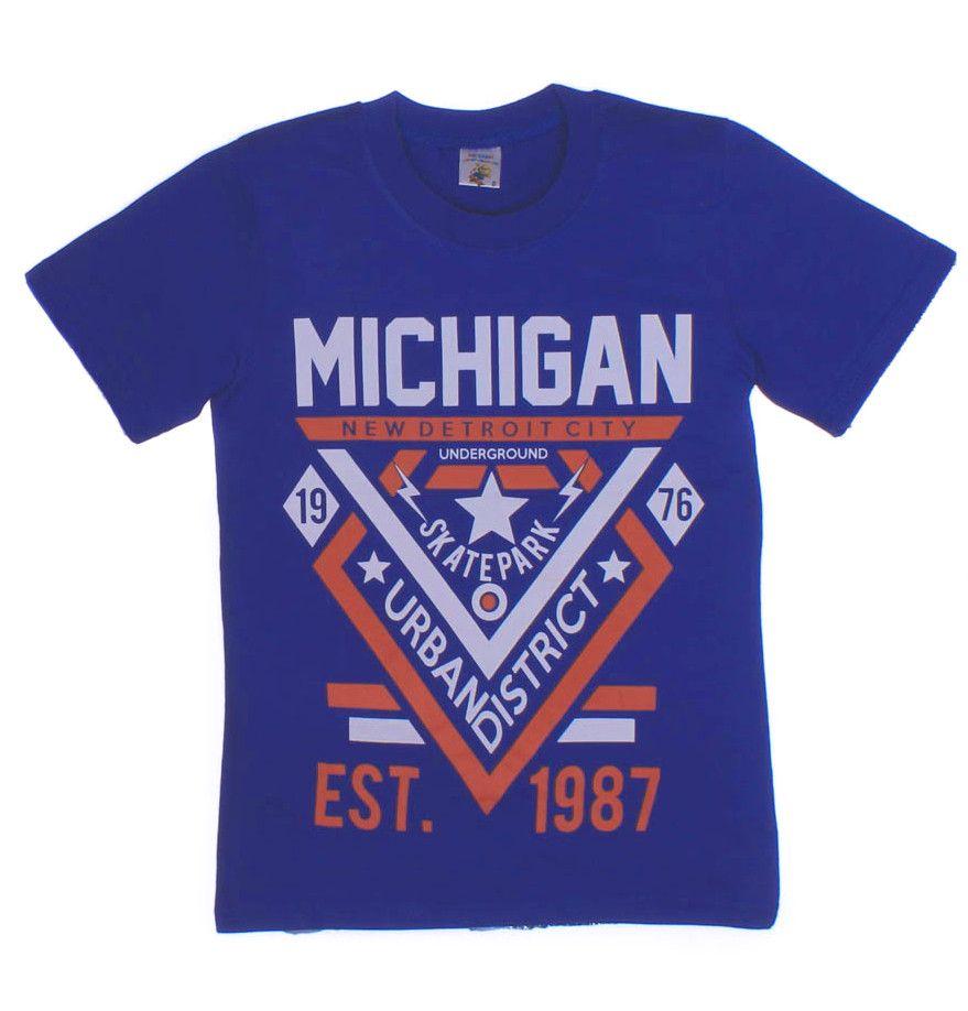 Футболки для мальчиков Michigan